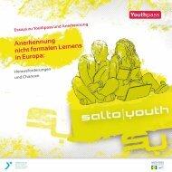 Anerkennung nicht formalen Lernens in Europa - Youthpass