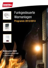 PDF-Produktblatt zum Download - Barth Feuerwehrtechnik