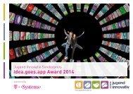 idea.goes.app Award 2013 - Jugend Innovativ