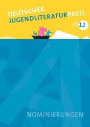 Die Nominierungen - Arbeitskreis für Jugendliteratur e.V.