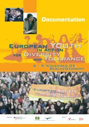 Opening speech - Jugendpolitik in Europa