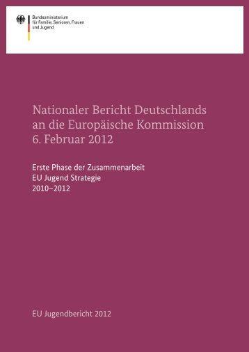 Nationaler Bericht Deutschlands an die Europäische Kommission