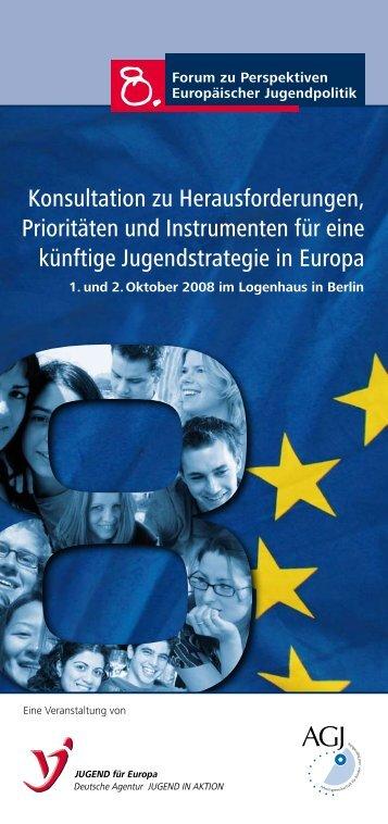 8. Forum - Jugendpolitik in Europa