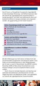 8. Forum - Jugendpolitik in Europa - Seite 2