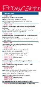 8. Forum - Jugendpolitik in Europa - Seite 5