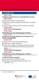 8. Forum - Jugendpolitik in Europa - Seite 6