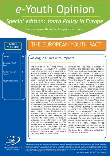 Download PDF - Jugendpolitik in Europa