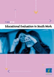 Educational Evaluation in Youth Work - EU-CoE youth partnership ...