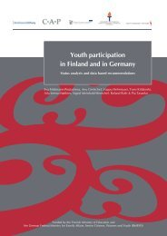 Youth participation in Finland and in Germany