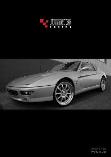 Ferrari F456 Product List - Dimex Group