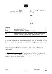 5505/11 - Jugendpolitik in Europa