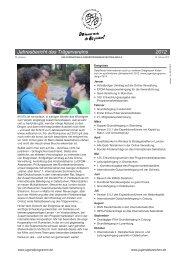 Jahresbericht 2012 - Internationale Jugendprogramm