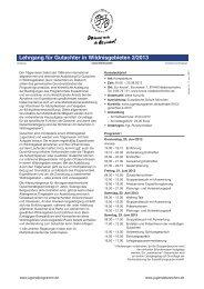 Gutachter 2/2013 - Internationales Jugendprogramm