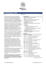 GL 1/2013 - Internationale Jugendprogramm