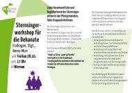 Sternsinger - Katholisches Jugendreferat Rems Murr
