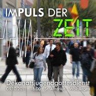impuls - Katholisches Jugendreferat Rems Murr