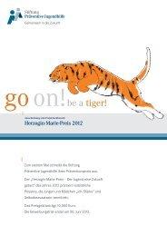 goon!be a tiger! - Stiftung Präventive Jugendhilfe