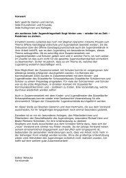 Jahresbericht 2004 - Jugendring Düsseldorf