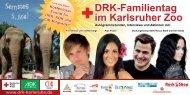 Drk-Familientag im Karlsruher Zoo - DRK Kreisverband Karlsruhe