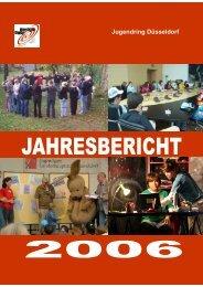 Jahresbericht 2006 - Jugendring Düsseldorf