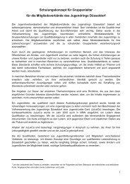 Mindeststandards-für-Gruppenleiterschulungen.pdf - Jugendring ...