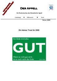 Der Appell2009 - Jugendring Düsseldorf