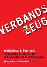 VERBANDS ZEUG - Jugendring Düsseldorf