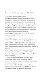 Förderung von Medienkompetenzprojekten durch die SLM 1 Die ...