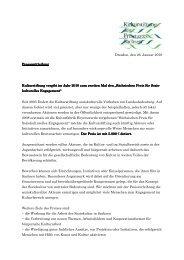 Dresden, den 26. Januar 2010 Pressemitteilung Pressemitteilung ...