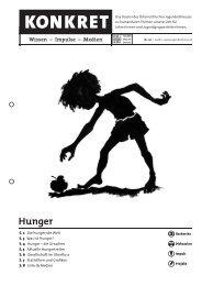 Konkret - Hunger - Österreichisches Jugendrotkreuz