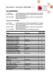 Kurse an Salzburger Schulen