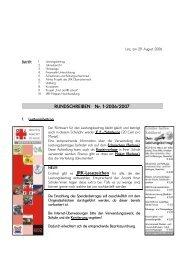 Rundschreiben Nr.1 2006/07 HS und PTS - Österreichisches ...