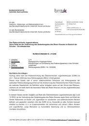 RUNDSCHREIBEN Nr. 27/2008 ÖJRK Grundsatzerlass