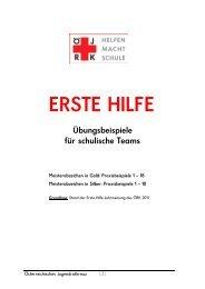 ERSTE HILFE - Österreichisches Jugendrotkreuz