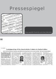 Pressespiegel - Jugendserver-Saar