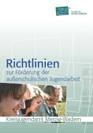 Richtlinien - Jugendserver-Saar