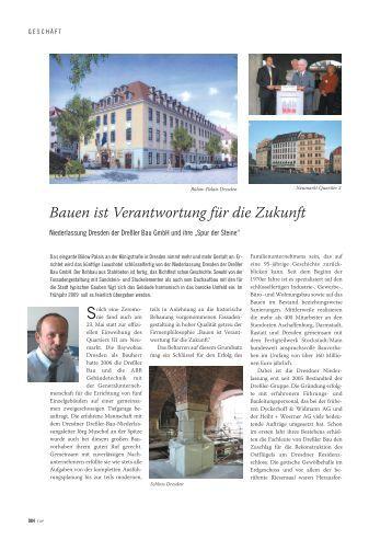 Artikel Top Magazin Seite 1 1 - Dreßler-Bau
