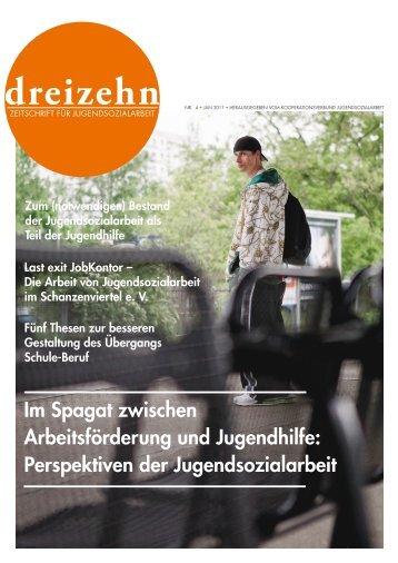 DREIZEHN Ausgabe 4 - Kooperationsverbund Jugendsozialarbeit