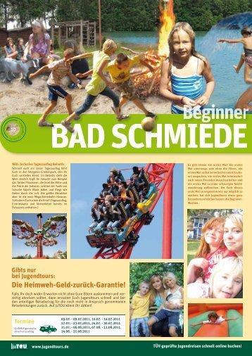 Gibts nur bei Jugendtours: Die Heimweh-Geld-zurück-Garantie!
