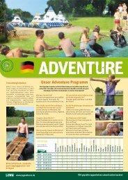 Unser Adventure Programm