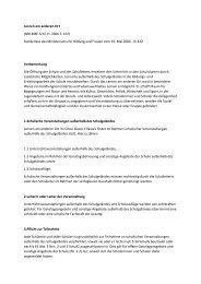 Lernen am anderen Ort (NBI.MBF.Schl.-H. 2006 S. 167) Runderlass ...