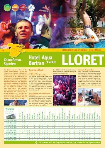 LLORET Hotel Aqua Bertran ***+