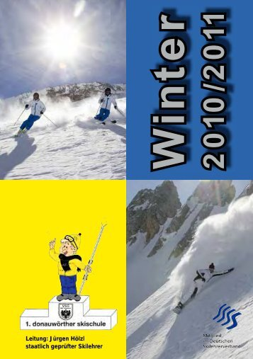 Anmelde - 1. Donauwörther Skischule