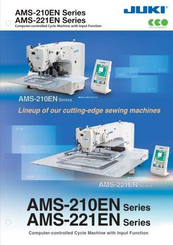 AMS-210EN Series AMS-221EN Series - JUKI