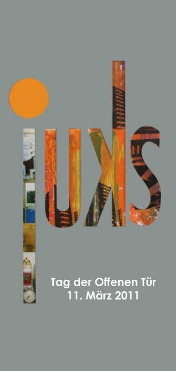 Tag der Offenen Tür 11. März 2011 - Jugendkunstschule Pankow