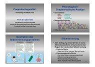 Computerlinguistik I Phonologisch- Graphematische Analyse ...