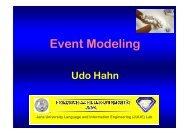 Event Modeling - Jena University Language & Information ...
