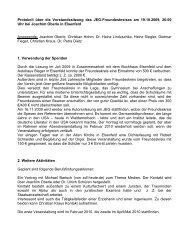 Download des Protokolls der Vorstandssitzung vom 19. Oktober