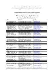 Zoznam (PDF) - Jazykovedný ústav Ľudovíta Štúra - SAV