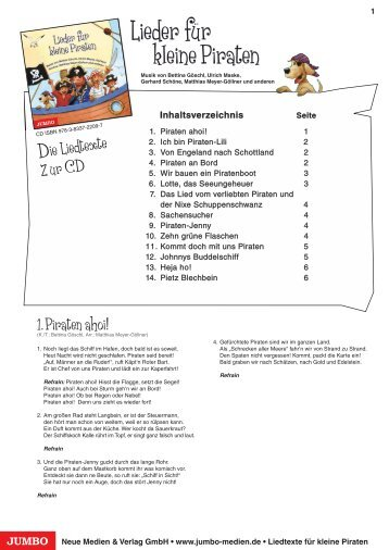 Texte (PDF - 98 KB) - JUMBO Neue Medien & Verlag